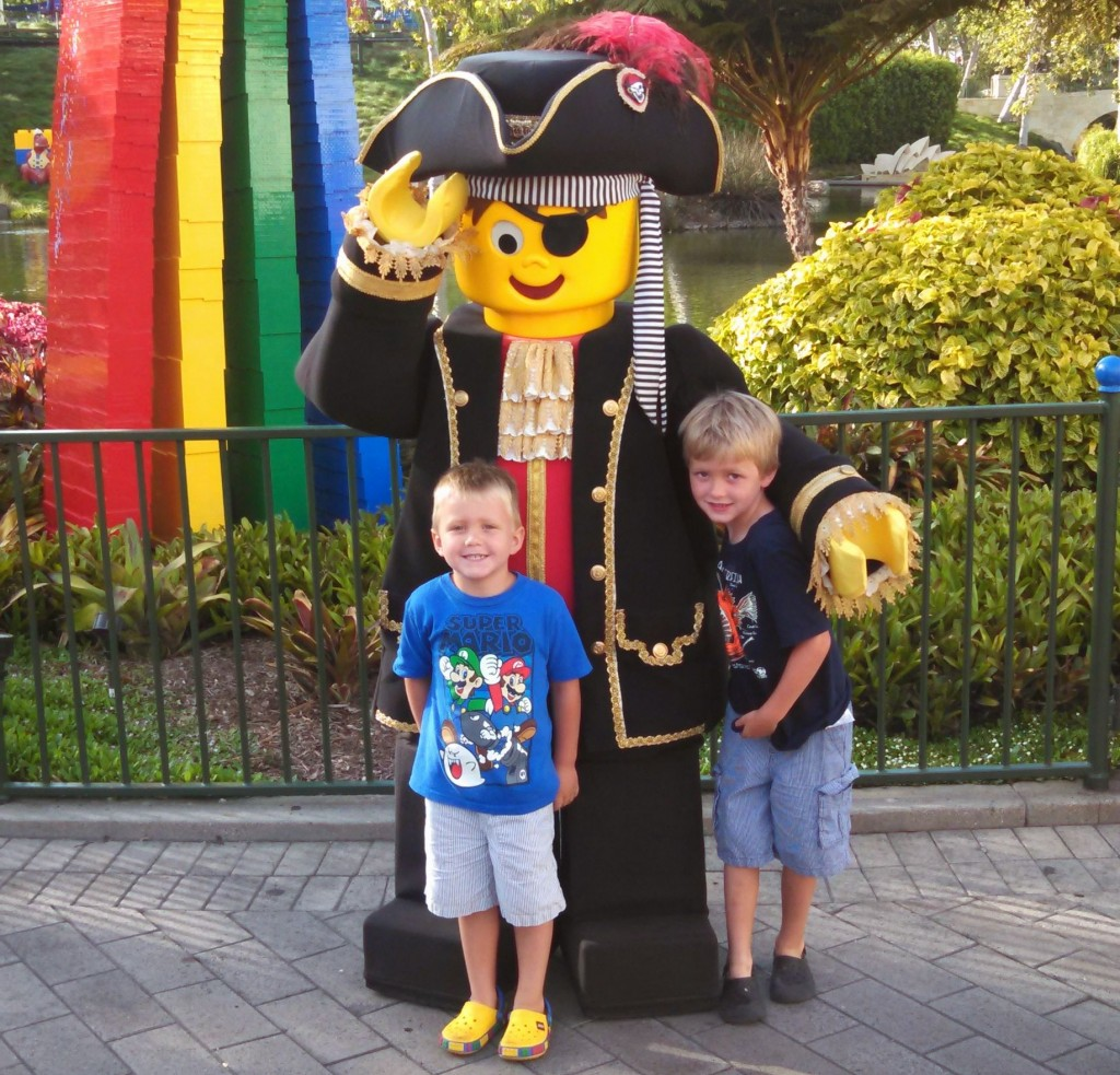Kids at Legoland